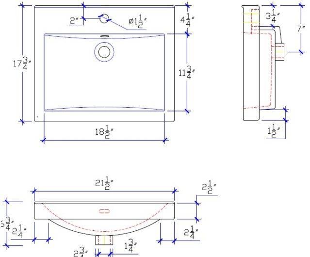 "S11021W1S 3 639x530 - 21"" Fairmont Designs Rustic Chic Vanity/Sink Combo"