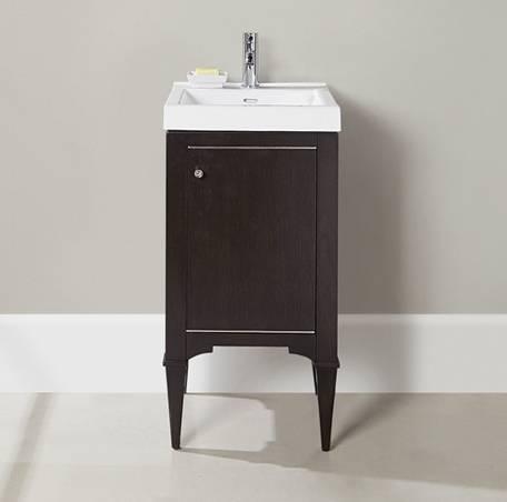 18 fairmont designs charlottesville vanity sink combo - Small bathroom sink and vanity combo ...