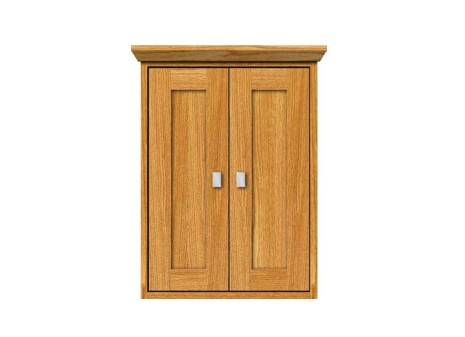 """18contemp - Strasser Woodenworks 18"""" Contemporary Wall Cubby, 4 Door Styles, 15 Finishes"""