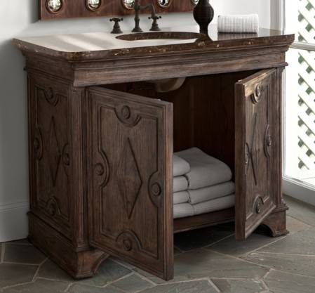 "24090110401a - 46"" Ambella Home Diamond Vanity"