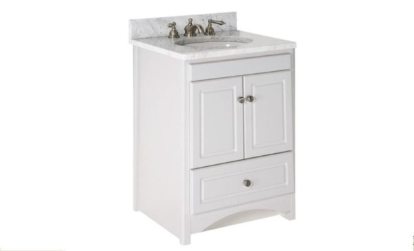 "24RAVENNA 600x364 - Strasser Woodenworks 24"" Ravenna Vanity, 7 Door Styles, 15 Finishes"