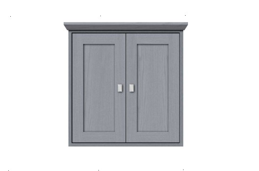 """24contemp - Strasser Woodenworks 24"""" Contemporary Wall Cubby, 4 Door Styles, 15 Finishes"""