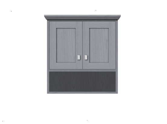 "24contempoj - Strasser Woodenworks 24"" Contemporary Overjohn, 4 Door Styles, 15 Finishes"