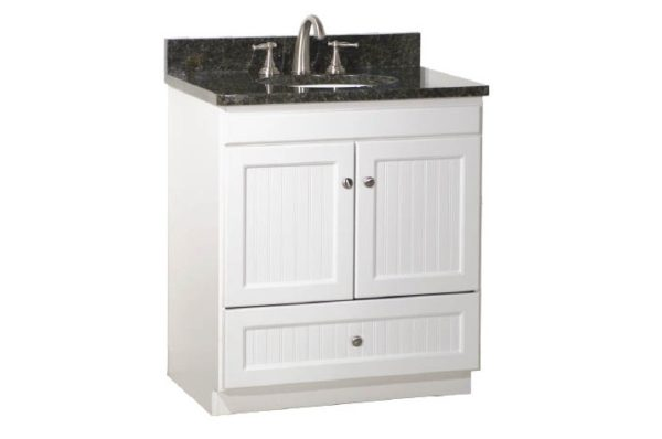 "30ML 600x398 - Strasser Woodenworks 30"" Montlake Vanity, 7 Door Styles, 15 Finishes"