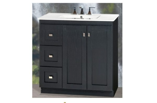 "30MLVL 600x394 - Strasser Woodenworks 30"" Montlake View Vanity, 7 Door Styles, 15 Finishes"