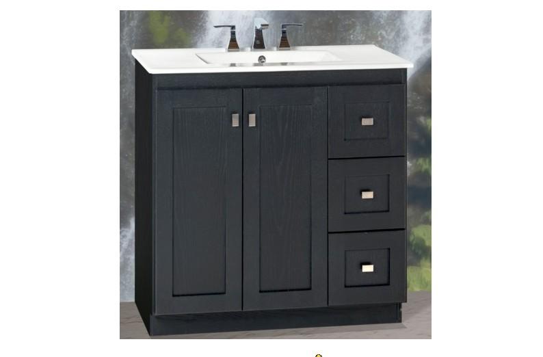 Strasser Woodenworks Montlake View Vanity Door Styles - Strasser bathroom vanities