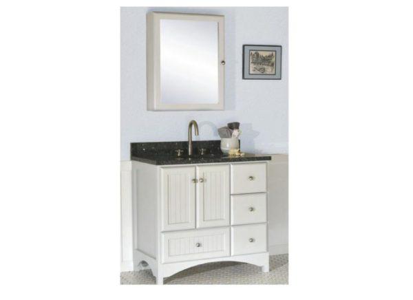 """30birchbayr 600x436 - Strasser Woodenworks 30"""" Birch Bay Vanity, 2 Door Styles, 5 Finishes"""