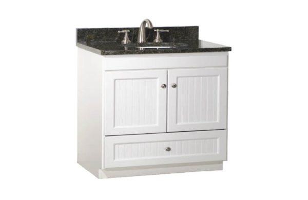 "36ML 600x390 - Strasser Woodenworks 36"" Montlake Vanity, 7 Door Styles, 15 Finishes"