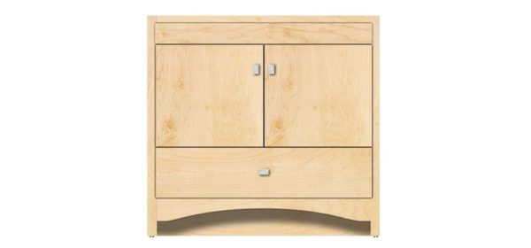 "36RAVENNA 600x280 - Strasser Woodenworks 36"" Ravenna Vanity, 7 Door Styles, 15 Finishes"