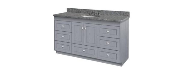 "60ML 1 600x238 - Strasser Woodenworks 60"" Montlake Vanity, 7 Door Styles, 15 Finishes"