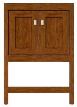 "ALKISPA24 - Strasser Woodenworks 24"" Alki Spa Vanity, 4 Door Styles, 15 Finishes"