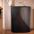 "C60BG 120x120 - 30"" Stone Forest Infinity Pedestal Sink-Avaiable in 3 finishes"