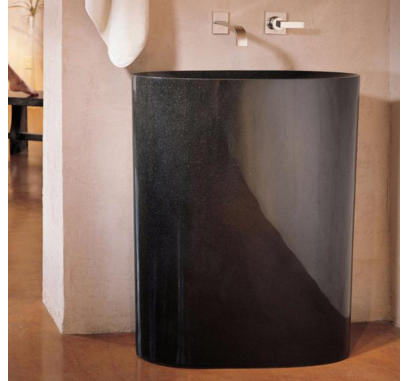 "C60BG - 30"" Stone Forest Infinity Pedestal Sink-Avaiable in 3 finishes"