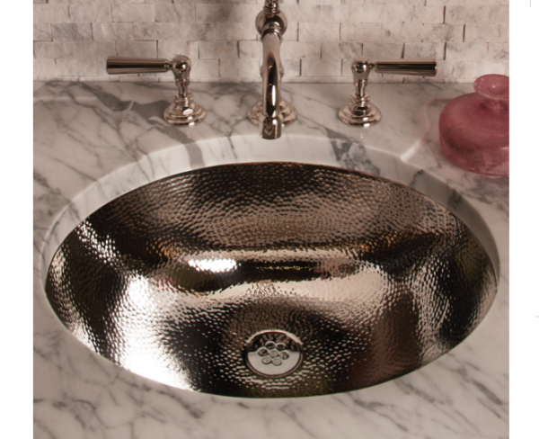 """CP07SS 600x488 - 27"""" Stone Forest Vintage Sink Console- Carrara Marble"""