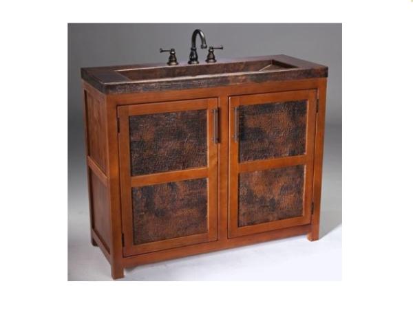 "VTL 600x451 - 42"" Thompson Traders Grande Rustic Vanity"