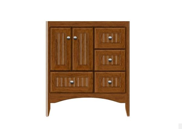 "WALLINGFORD30R 600x427 - Strasser Woodenworks 30"" Wallingford Vanity, 7 Door Styles, 15 Finishes"