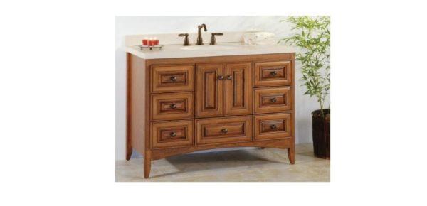 "WALLINGFORD42 600x290 - Strasser Woodenworks 42"" Wallingford Vanity, 7 Door Styles, 15 Finishes"