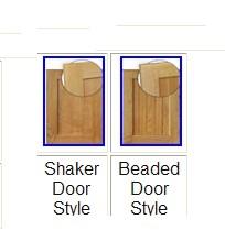 "birchbaydoors - Strasser Woodenworks 30"" Birch Bay Vanity, 2 Door Styles, 5 Finishes"