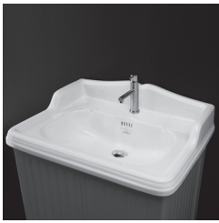 """3096 - 26"""" Lacava Grace Vanity Base & Sink-Avail in Multiple finishes"""