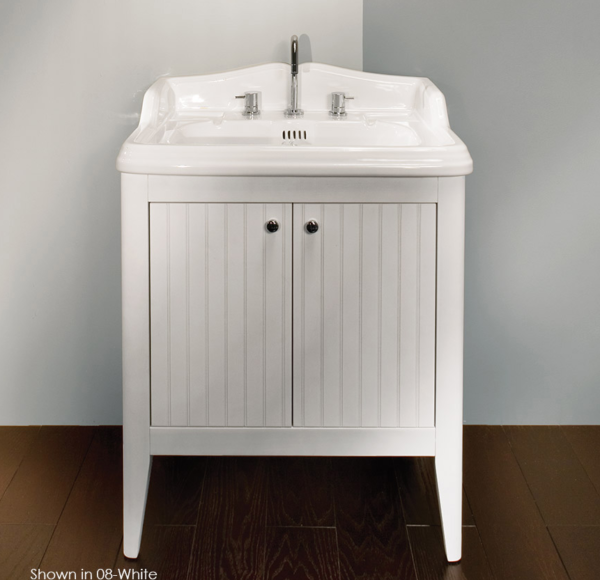"""3098 600x580 - 26"""" Lacava Grace Vanity Base & Sink-Avail in Multiple finishes"""
