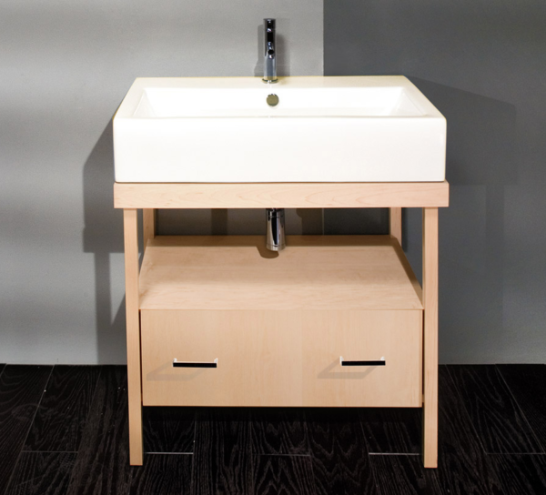"""5033 600x544 - 31.5"""" Lacava Aquamedia Vanity Base & Sink-Avail in Multiple finishes"""