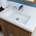 """5212CB 120x120 - 31"""" Lacava Aquaquattro Vanity Base & Sink-Avail in Multiple finishes"""