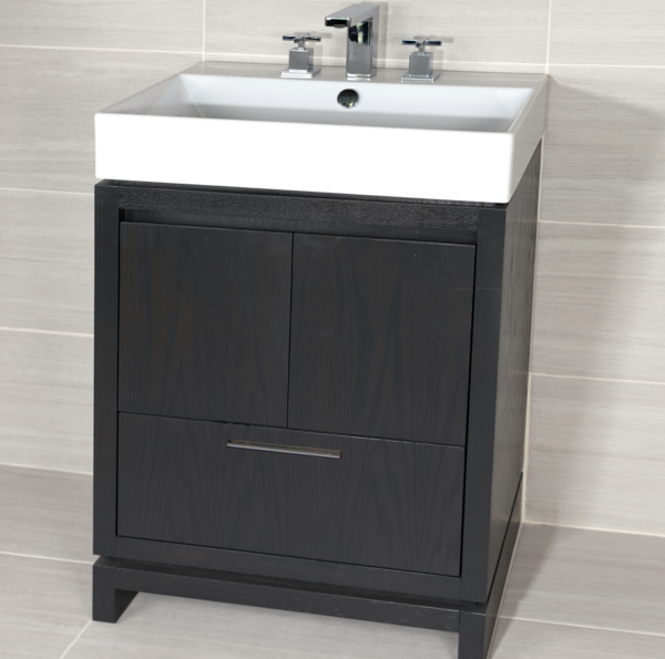 "5231C 600x595 - 23 1/8"" Lacava Aquasei Vanity Base & Sink-Avail in Multiple finishes"