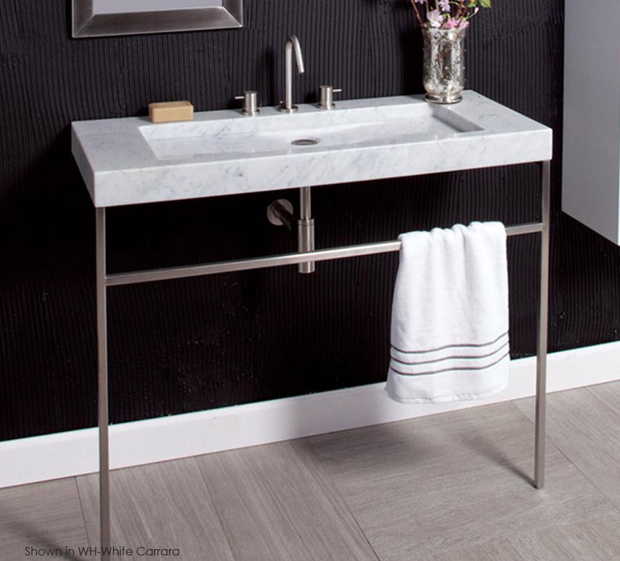 42 Quot Lacava Libera Console Amp Stone Sink Bathroom Vanities