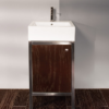"7774 100x100 - 19.25"" Lacava Quadro Vanity Base & Sink-Avail in Multiple finishes"