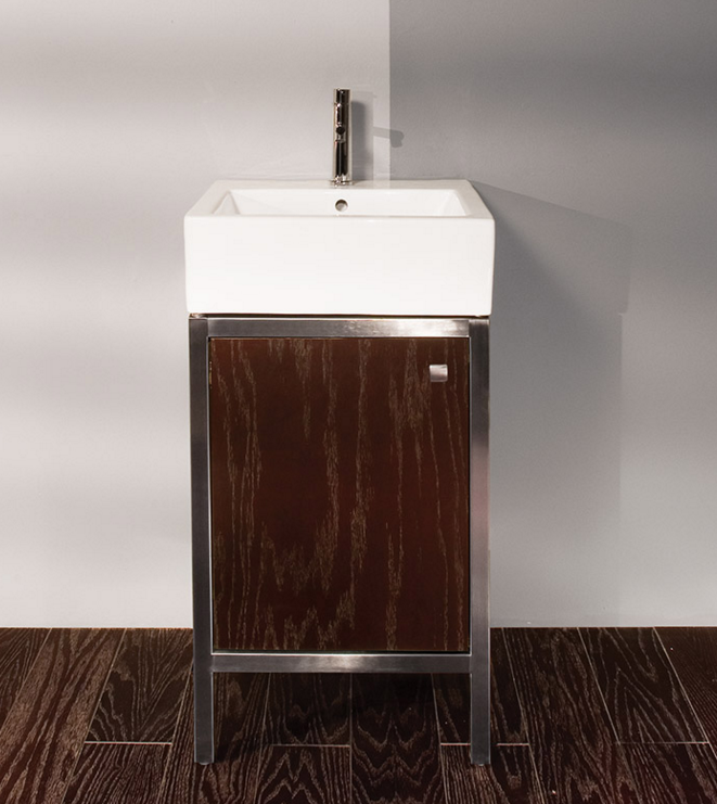 "7774 - 19.25"" Lacava Quadro Vanity Base & Sink-Avail in Multiple finishes"
