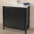 "8074C 120x120 - 31.5"" Lacava Aquatre Vanity Base & Sink-Avail in Multiple finishes"