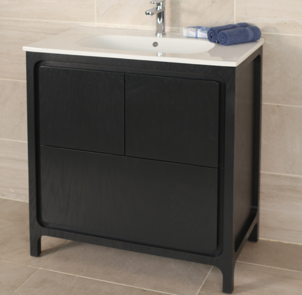 "8074C 600x587 - 31.5"" Lacava Aquatre Vanity Base & Sink-Avail in Multiple finishes"
