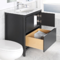 "8074COPEN 120x120 - 31.5"" Lacava Aquatre Vanity Base & Sink-Avail in Multiple finishes"