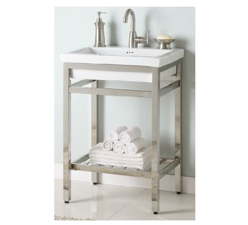 "NSB24P - 24"" Empire South Beach  Console & Sink"