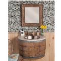 "VNW24OAK 120x120 - 24"" Native Trails Bordeaux Wall mount Vanity Base- Avail in 2 colors"