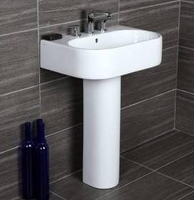 23 5 8 Quot Lacava Tre Wall Mount Sink Opt Shroud Amp Pedestal
