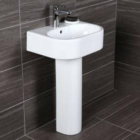 "2962oed - 19.75""  Lacava Tre Wall Mount Sink-Optional Shroud & Pedestal"
