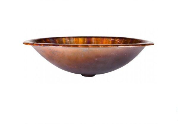 "2OMCA 600x418 - 19"" x 13.25"" Thompson Traders Acapulco II Copper Sink"