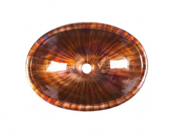"2OMCB 600x443 - 19"" x 13.25"" Thompson Traders Acapulco II Copper Sink"