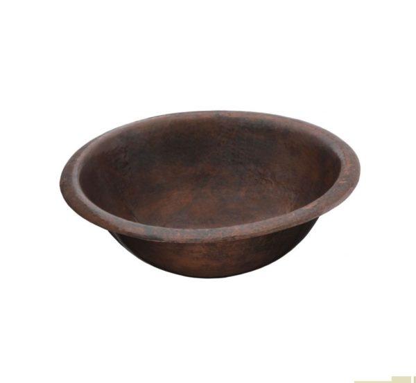 "2RPBC 600x553 - 15.5"" Thompson Traders Black Copper Alder Sink"