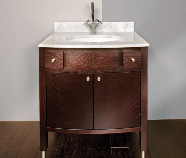 "3501 600x511 - 32"" Lacava Luna Vanity Base Optional Top & sink-Avail in Multiple finishes"