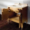 "3501A 120x120 - 32"" Lacava Luna Vanity Base Optional Top & sink-Avail in Multiple finishes"