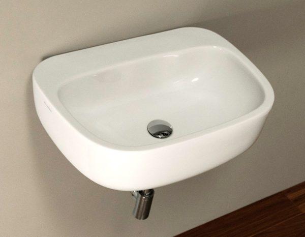 "3600 600x466 - 25""  Lacava Ottavo Wall Mount Sink"