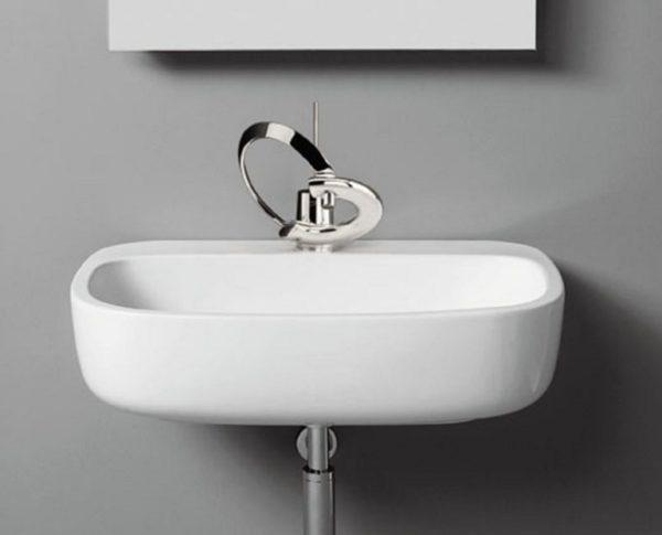 "3600a 600x485 - 25""  Lacava Ottavo Wall Mount Sink"