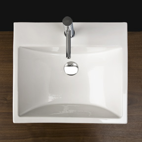 """4272a - 20""""  Lacava Piazza Wall Mount Sink 4272"""