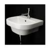 "4282 100x100 - 15.75""  Lacava Piazza Wall Mount Sink-Optional Shroud & Pedestal"
