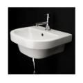 "4282 120x120 - 15.75""  Lacava Piazza Wall Mount Sink-Optional Shroud & Pedestal"