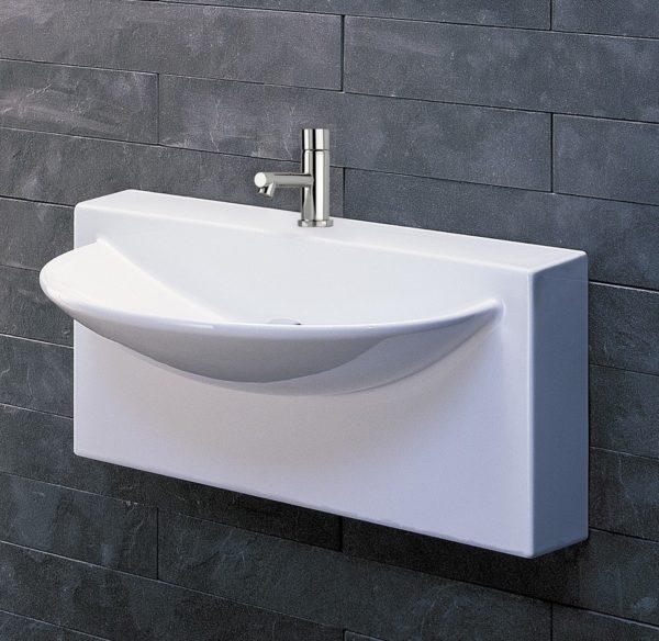 "4500 600x584 - 27.5""  Lacava Block Wall Mount Sink"