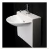 "4500S 100x100 - 17.75""  Lacava Block Wall Mount Sink"
