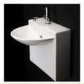 "4500S 120x120 - 17.75""  Lacava Block Wall Mount Sink"